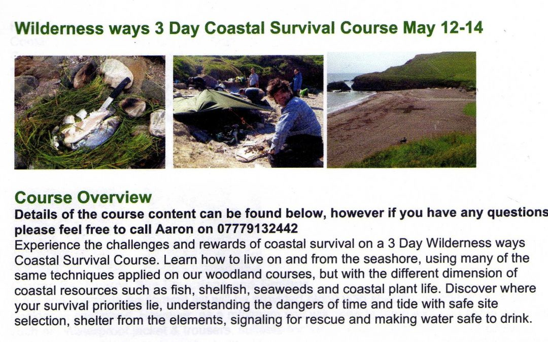 Coastal survival course at Ichinen Bridport open for non members