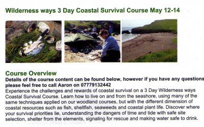 Coastal survival course at Ichinen Bridport open for non members