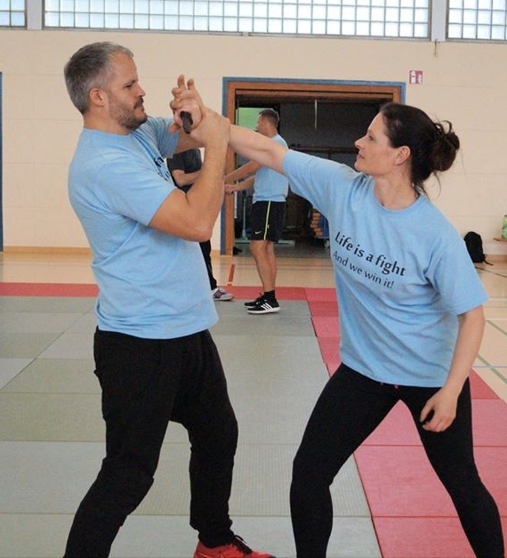 Improve your self defence skills