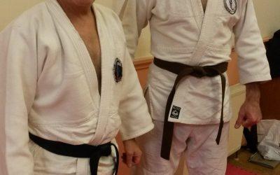 126 years joint force for Jiu-Jitsu grading