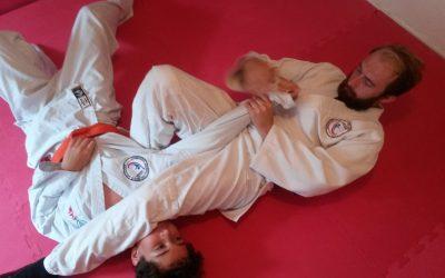 Bridport martial artist now 2nd Kyu Jiu-Jitsu self defence