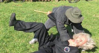 Outdoor self defence training in Bridport