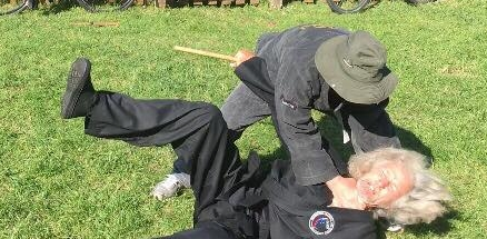 Outdoor self defence training in Bridport