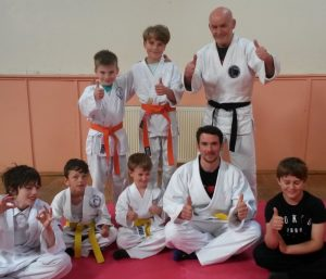 children train martial arts in bridport
