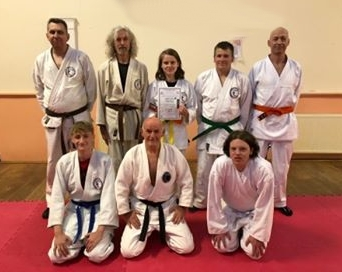 Andy Loudon is martial artist of the month at Ichinen Bridport