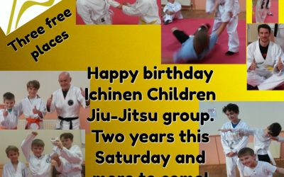 Children in Bridport learn self defence, discipline, respect  and self eistem with Jiu-Jitsu