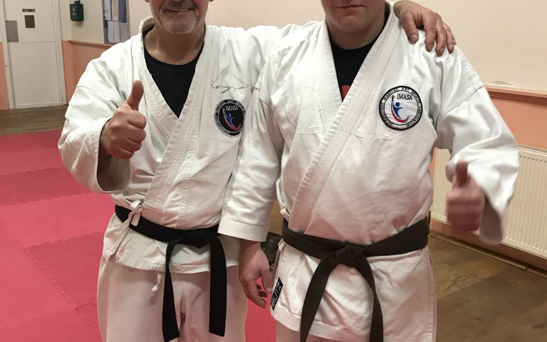 Martial artist of the year 2020 Bridport